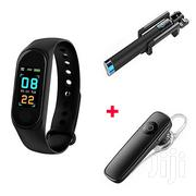 M3 Smart Bracelet Heart Rate Monitor,Free Bluetooth And Selfie Stick | Smart Watches & Trackers for sale in Nairobi, Nairobi Central