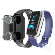 Smart Band With Wireless Earbuds Fitness Bracelet T89   Smart Watches & Trackers for sale in Nairobi, Nairobi Central