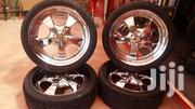 Landcruiser  V8 Chrome Rims With New  Yokohama  Tyres | Vehicle Parts & Accessories for sale in Nairobi, Mugumo-Ini (Langata)
