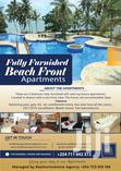 Fully Furnished 3 Bedrooms Seafront Apartment for Short Term Rental | Short Let for sale in Bamburi, Mombasa, Kenya