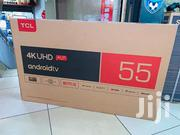 55 Inches TCL Smart Android UHD 4K   TV & DVD Equipment for sale in Nairobi, Nairobi Central