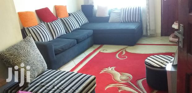 Archive: 6 Seater L Shape Sofa With Throwing Small Pillows