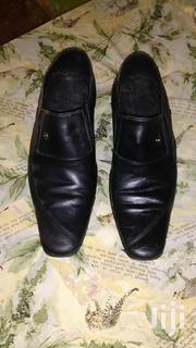 Black Lether Shoe | Shoes for sale in Mombasa, Likoni
