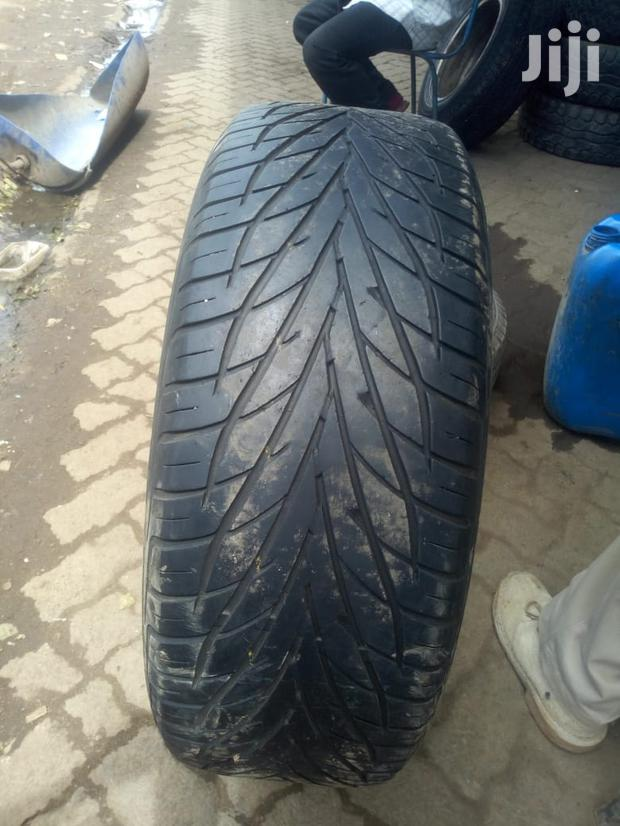 The Tyre Is Size 235/60/18 Toyo