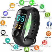 M3 Smart Bracelet Watch Fitness Tracker Wristband Heart Rate | Smart Watches & Trackers for sale in Nairobi, Nairobi Central