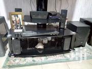 Sony Home Theatre - DZ 350 + Glass TV Stand Can Hold Up To 50"