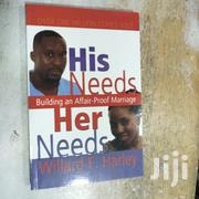 His Needs, Her Needs: Building An Affair-proof Marriage Willard F | Books & Games for sale in Nairobi, Nairobi Central