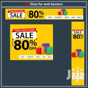 All Size Web Banner Graphic Design | Computer & IT Services for sale in Homa Bay, Mfangano Island