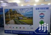 Skyview CURVED 4K UHD Smart Android TV 55 Inches | TV & DVD Equipment for sale in Nairobi, Nairobi Central