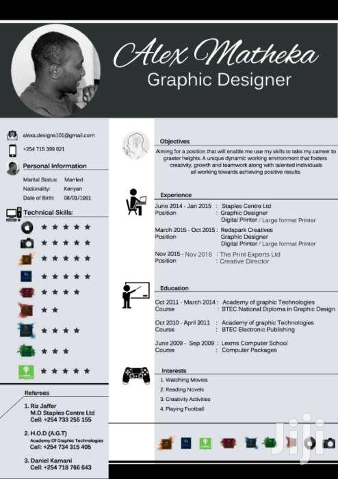 Looking For Graphic Design Position