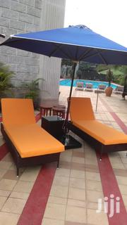Beach Sun Umbrella With Beds | Garden for sale in Mombasa, Tudor