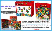 Lego-like Building Blocks- 250 Pcs (Compatible With Majority B-blocks) | Toys for sale in Nairobi, Nairobi Central