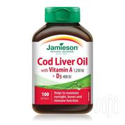 Jamieson Cold Liver Oil Softgels 100`S | Vitamins & Supplements for sale in Nairobi, Ngara