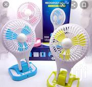 Rechargeable Portable LED Light With Mini Fan | Home Appliances for sale in Nairobi, Nairobi Central