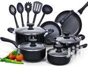 Cook N Home 15-Piece Nonstick Stay Cool Handle Cookware Set, Black | Kitchen & Dining for sale in Nairobi, Nairobi Central