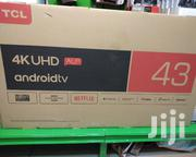 Tcl 43inch 4k Uhd Android Tv | TV & DVD Equipment for sale in Nairobi, Nairobi Central