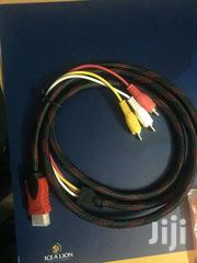 Ideo Audio AV HDMI Male To 3 RCA Cable Adapter For HDTV DVD 1080P | Audio & Music Equipment for sale in Nairobi, Nairobi Central