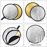 """Godox 110cm 43"""" 2 In 1 Collapsible Light Reflector (Gold & White) 