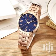 Curren 9007 Women Quartz Watch Calendar - Golden | Watches for sale in Nairobi, Nairobi Central