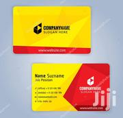 Business Cards Printing Full Color | Other Services for sale in Nairobi, Nairobi Central
