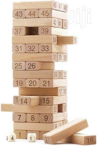 Jenga Block Tower Game