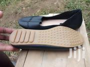 Black Leather Flat Shoe. Exchangeable With 2gb Ram Compatible to Hp.   Shoes for sale in Nakuru, Gilgil