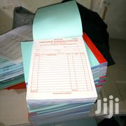 High Quality Triplicate & Selfcarbonate Quality Invoice Books Printing | Computer & IT Services for sale in Nairobi, Nairobi Central