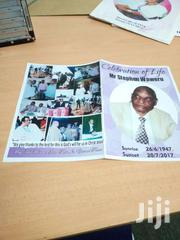 Eulogy Printing. A4 Size | Computer & IT Services for sale in Nairobi, Nairobi Central