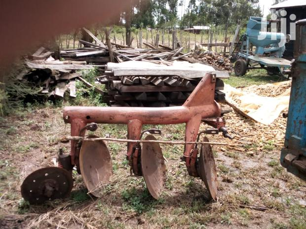 Archive: Fiat Tractor And Massey Disc Plough For Sale.