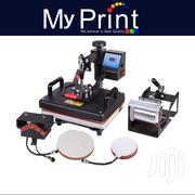 Heat Press 5 In 1 Machine For T-shirts, Mug, Plate Heat Press | Printing Equipment for sale in Nairobi, Nairobi Central