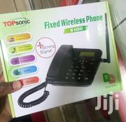 Topsonic S100 Home/Office Wireless Desktop GSM Phone With Dual Sim | Home Appliances for sale in Nairobi, Nairobi Central