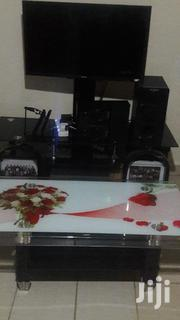 """Samsung Tv 32"""" Plus The Tv Stand,Vitron Music System & A Glass Table 