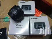 New Canon EF 50mm F/1.8 STM Prime Camera Lens | Accessories & Supplies for Electronics for sale in Nairobi, Nairobi Central