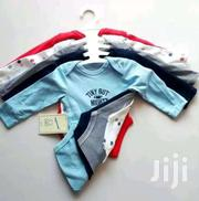 6PACK Baby Boy Long Sleeve Brand New Onesis | Toys for sale in Nairobi, Kasarani