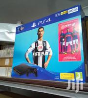 Sony PS4 Slim Gaming Console -500gb +FIFA 20 With 2 Pads | Video Games for sale in Nairobi, Nairobi Central
