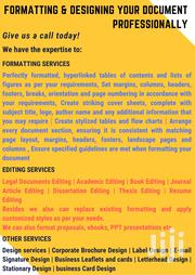 Document Formatting   Computer & IT Services for sale in Nairobi, Westlands