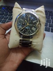 VALENTINES OFFER! Cartier Black and Silver Watch With Gold Dials | Watches for sale in Nairobi, Nairobi Central