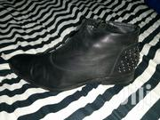 Original Black Leather Boots | Shoes for sale in Nairobi, Ruai