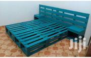 Unique Modern Quality 5by6 Pallet Bed | Furniture for sale in Nairobi, Ngara