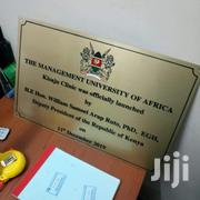 Plaque Signs | Computer & IT Services for sale in Nairobi, Westlands
