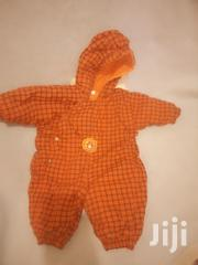 Warm Checked Orange BABY ROMPER | Children's Clothing for sale in Nairobi, Eastleigh North