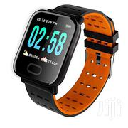 A6 Smart Watch Fitness Tracker Wristband Color Touch Screen | Smart Watches & Trackers for sale in Nairobi, Nairobi Central