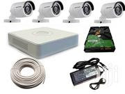 Four Hikvision 720p 1mp Complete Cctv Cameras System Package | Security & Surveillance for sale in Nairobi, Nairobi Central