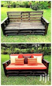 Affordable Durable Modern 3 Seater Pallet Sofa | Furniture for sale in Nairobi, Ngara