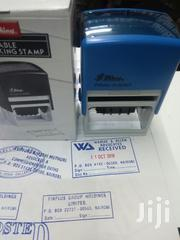 Rubber Stamp Blue | Stationery for sale in Nairobi, Nairobi Central