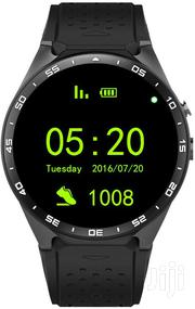 Kw88 Smart Watch Android SIM Card With Gps,Camera,Heart Rate Monitor   Smart Watches & Trackers for sale in Nairobi, Nairobi Central
