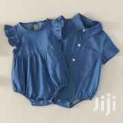 Denim Ot Haldf Romper | Children's Clothing for sale in Nairobi, Kahawa