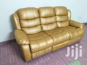 3+2 Recliner Sofa Golden | Furniture for sale in Mombasa, Shimanzi/Ganjoni