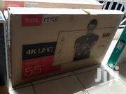2019 TCL 4K UHD Smart Tv 55 Inches With Netflix Youtube Wifi | TV & DVD Equipment for sale in Nairobi, Nairobi Central