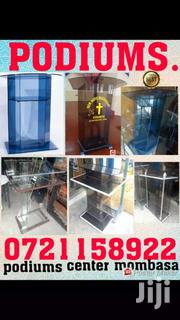 Hard Glass Pulpits Branded | Building & Trades Services for sale in Mombasa, Majengo